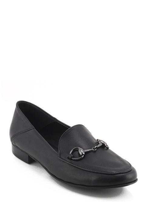 Poletto Loafer Ayakkabı Siyah